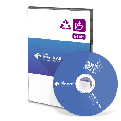 CMS IntelliCAD 8.4 PE Plus Upgrade